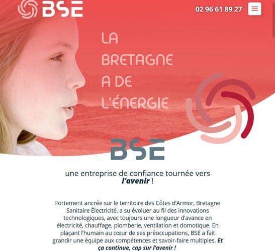 Rédaction de site web – BSE