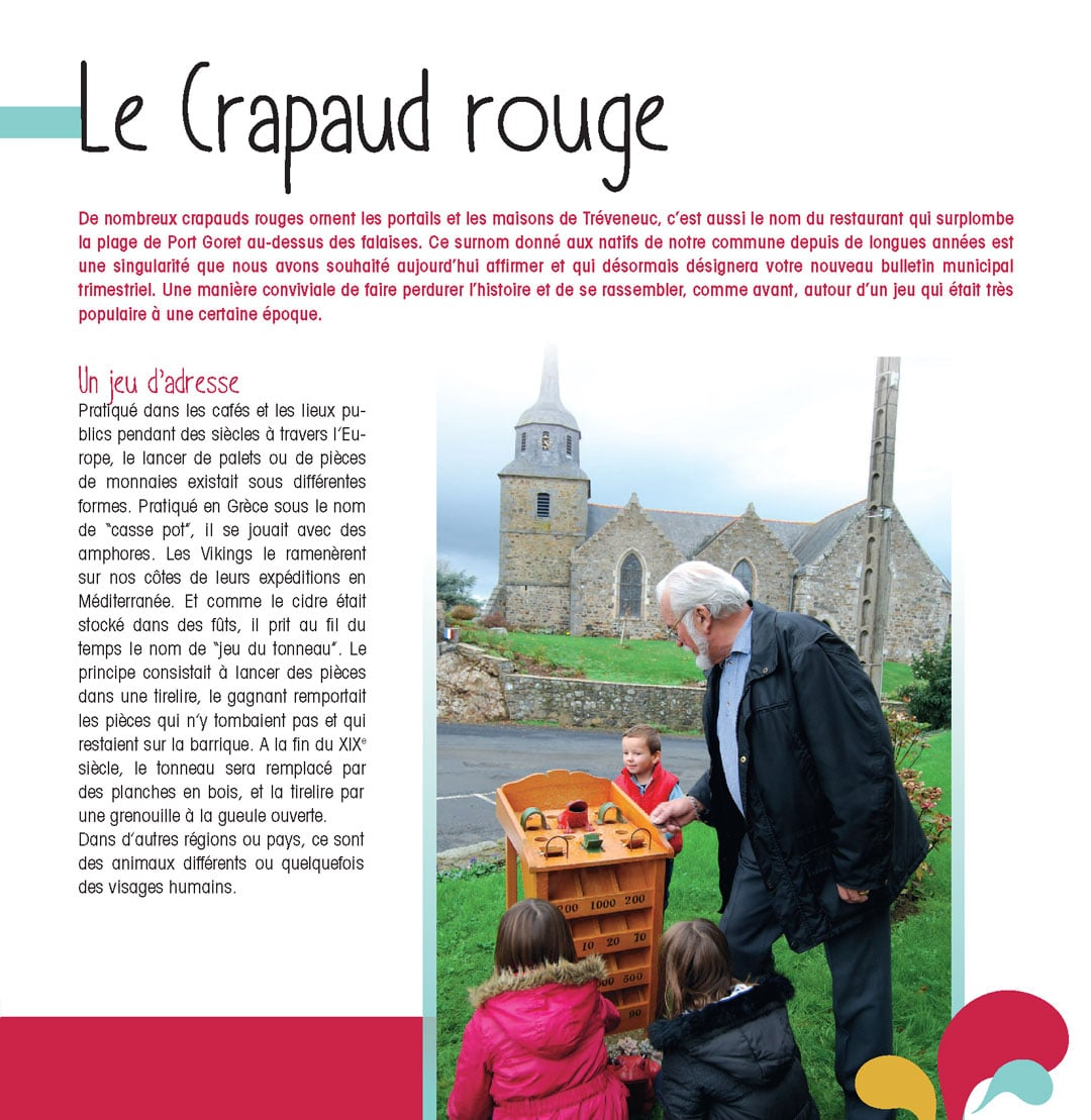 Communication territoriale – Le Crapaud Rouge