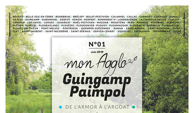Rédaction magazine de collectivité territoriale – Mon Agglo Guingamp Paimpol