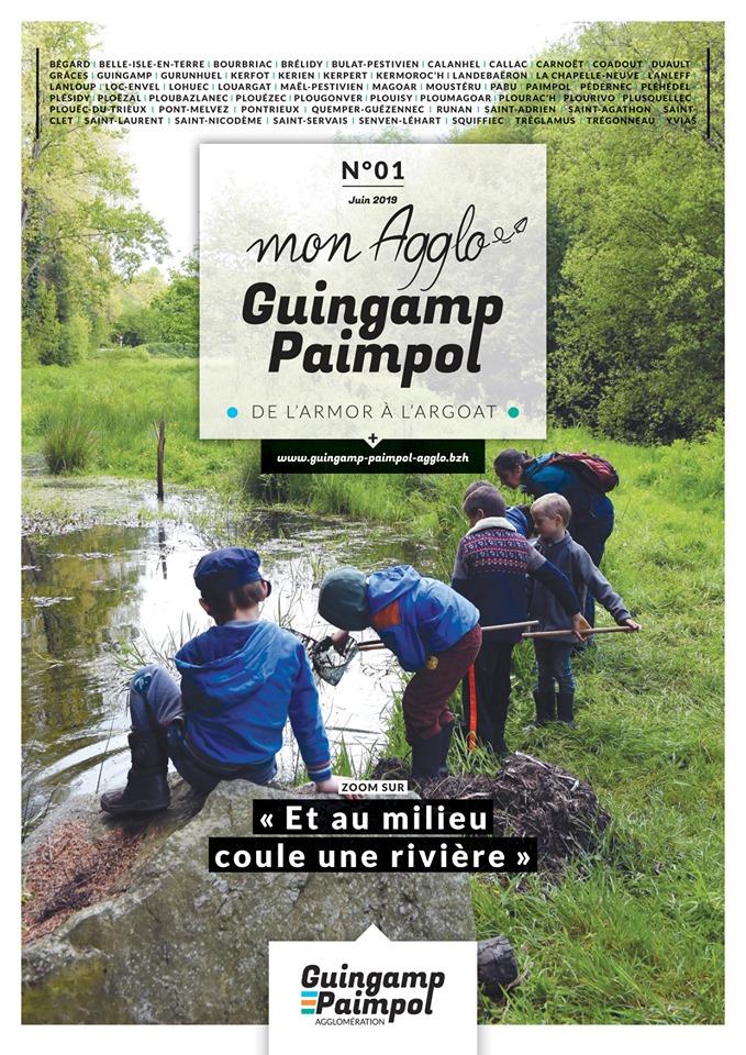 Rédactrice pour le Magazine de Guingamp Paimpol Agglomération