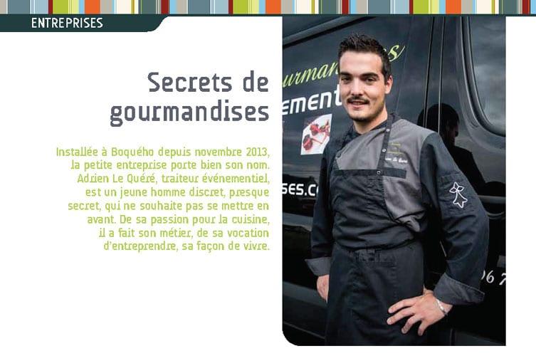 Portrait d'entrepreneur – Secrets de Gourmandises