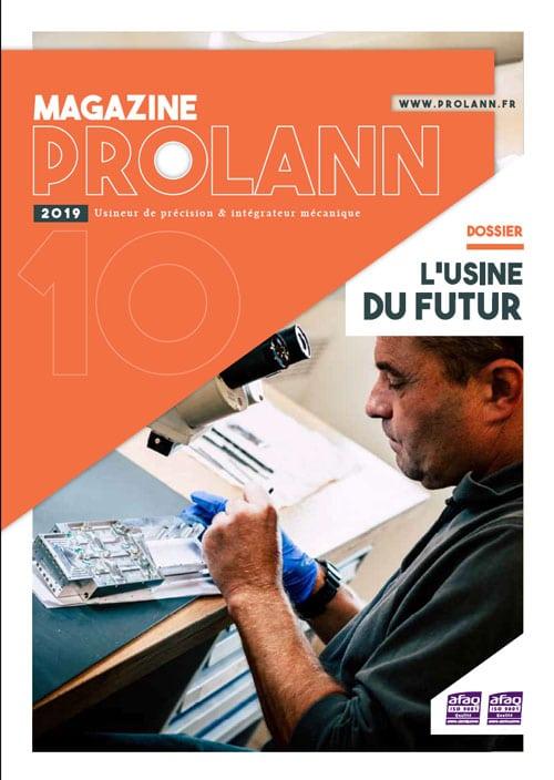 Rédaction d'un journal d'entreprise – Prolann